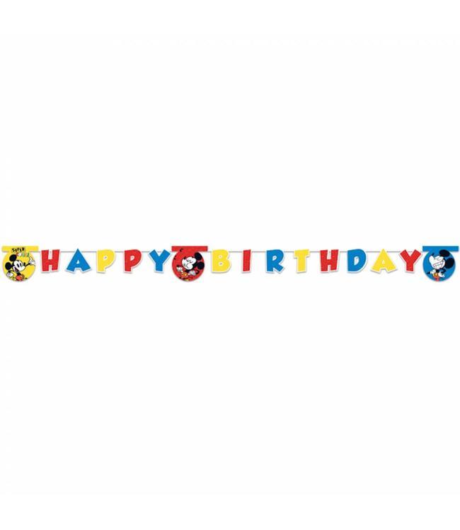 Procos Mickey Super Cool Slinger 'Happy Birthday' - per stuk