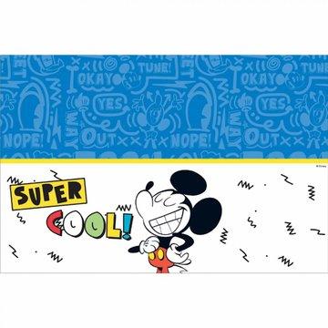 Procos Mickey Super Cool Tafelkleed - per stuk - Mickey Mouse feestartikelen