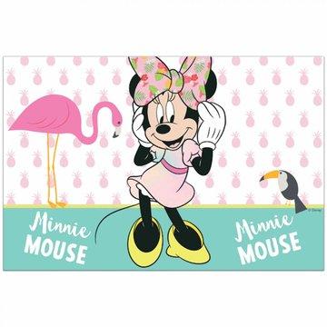 Procos Minnie Tropical Tafelkleed -per stuk  - Minnie Mouse feestartikelen