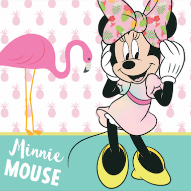 Minnie Mouse Tropical Feestartikelen