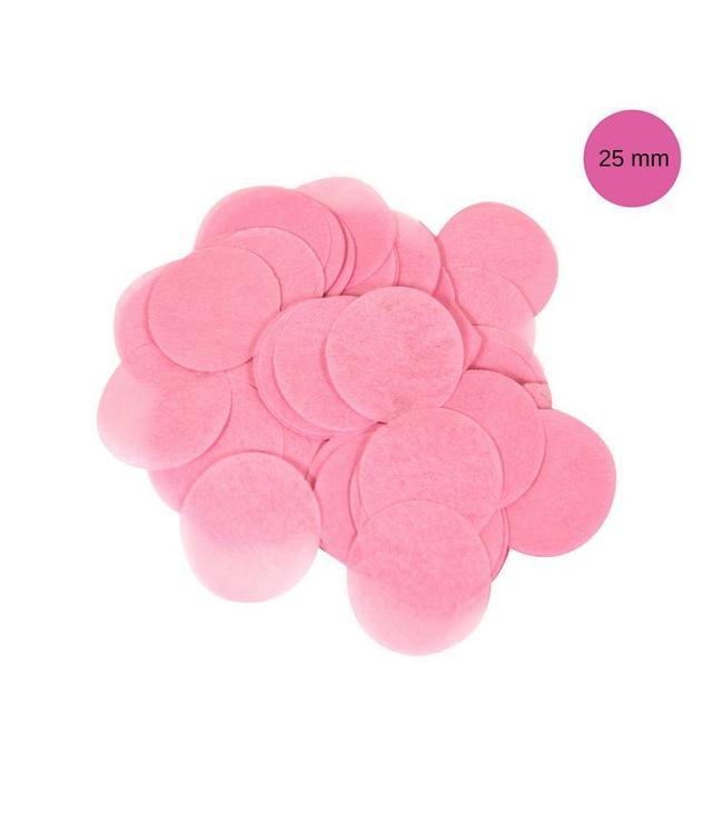 Oaktree Lichtroze Tissue Confetti - per zak - 14 gr