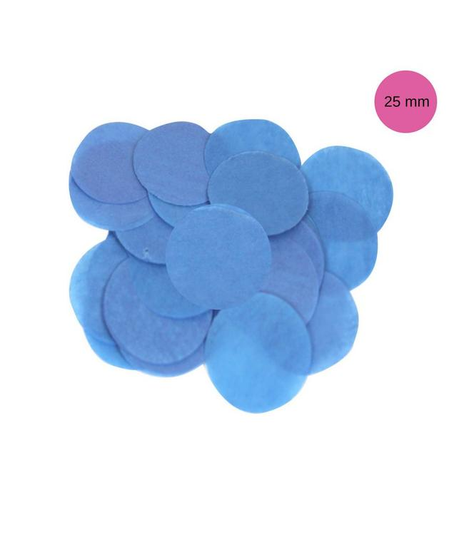 Oaktree Blauwe Tissue Confetti - per zak - 14 gr