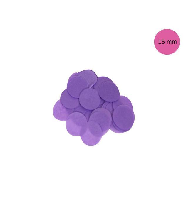 Oaktree Paarse Tissue Confetti - per zak - 14 gr