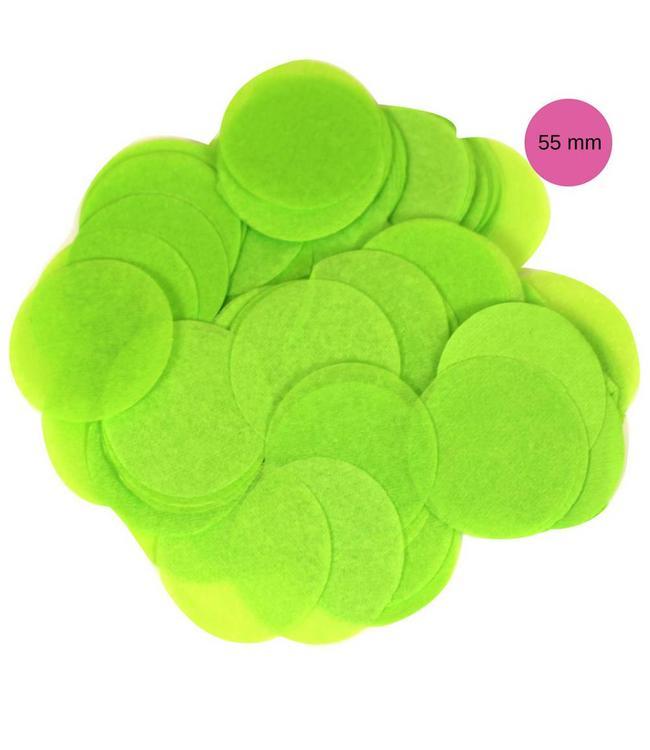Oaktree Groene Tissue Confetti - per zak - 100 gr