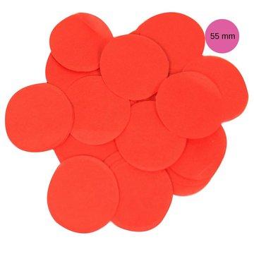 Oaktree Rode Tissue Confetti - per zak - 100 gr