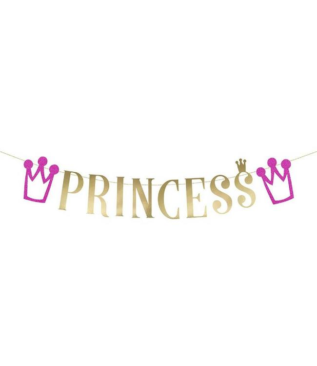 Partydeco Slinger 'Princess'  - per stuk