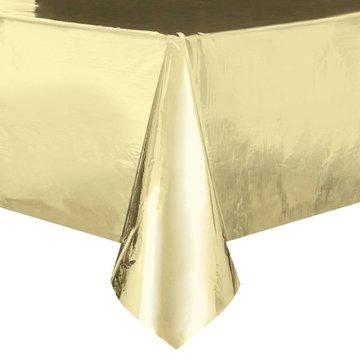 Unique Goud Folie Tafelkleed - per stuk -   137 x 274 cm