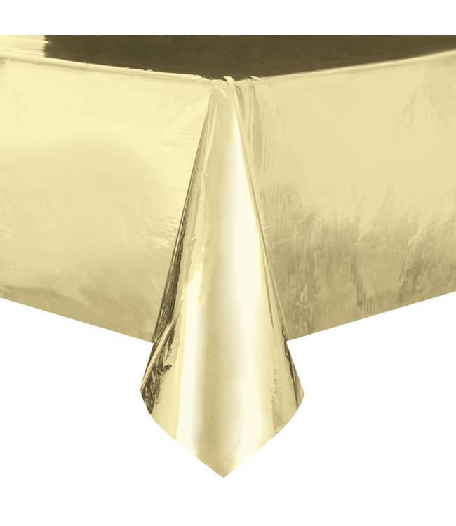 Unique Goud Folie Tafelkleed -  137 x 274 cm