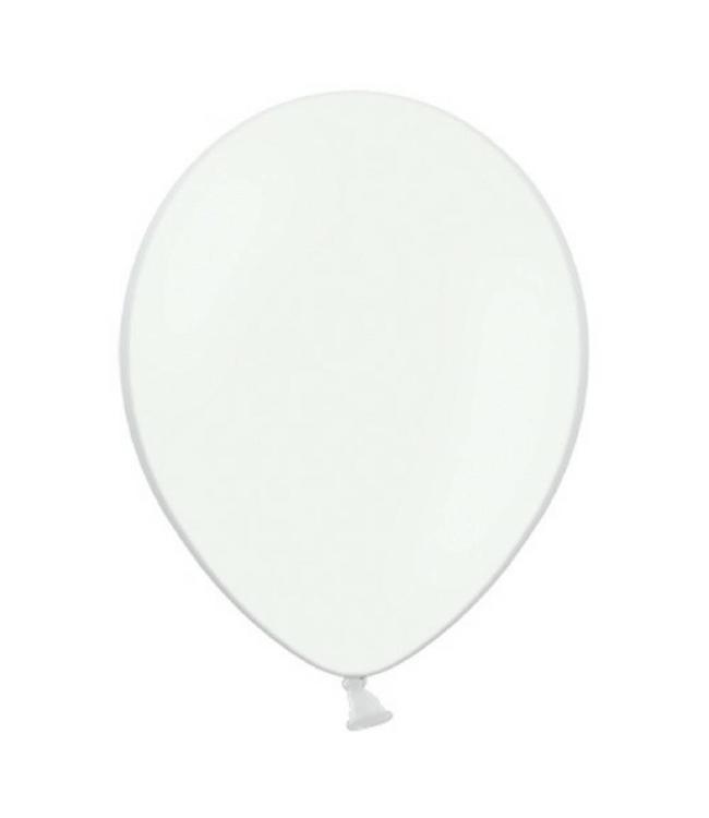 Partydeco Ballon Wit - 10 stuks - 30 cm