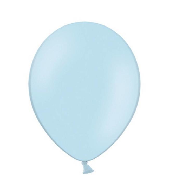 Partydeco Ballon Lichtblauw - 10 stuks - 30 cm