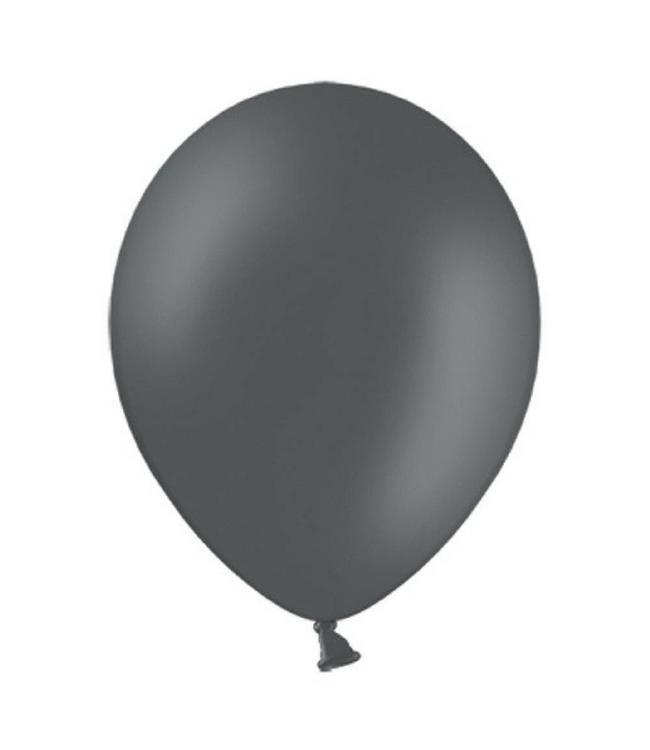 Partydeco Ballon Grijs - 10 stuks - 30 cm