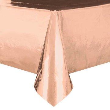 Unique Roségoud Folie Tafelkleed - per stuk -   137 x 274 cm