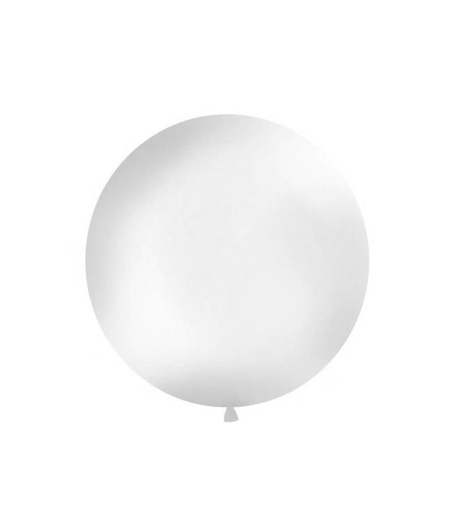 Partydeco Jumbo Ballon Transparant - per stuk - ballon van 1 meter