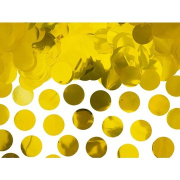 Partydeco Gouden Confetti - per zak - 15 gr