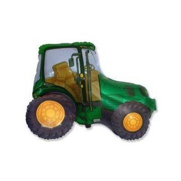 Flexmetal Tractor Folieballon (Supershape) - per stuk - 82 cm