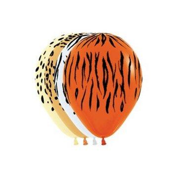 Sempertex Jungle Prints Ballonnen - 25 stuks - 30 cm