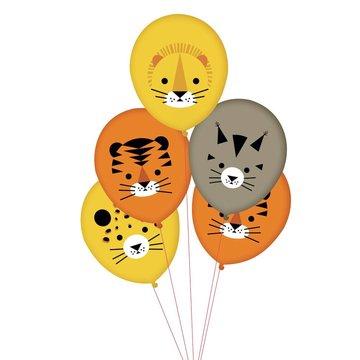 My Little Day Wilde Katten Ballonnen - 5 stuks - 30 cm - Mini Felines