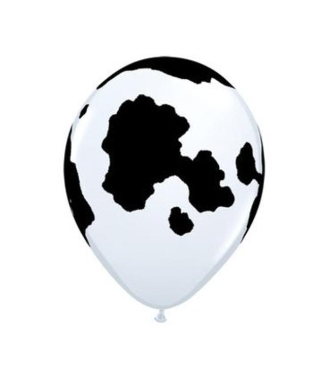 Sempertex Ballonnen met Koeprint - 25 stuks