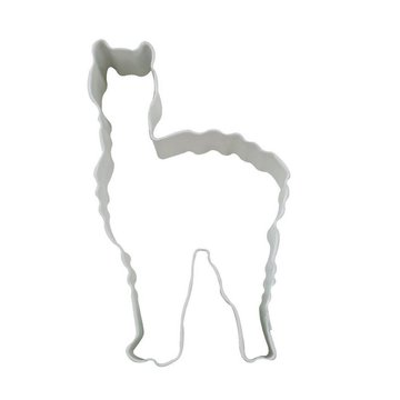 Creative Party Cookie Cutter Lama - per stuk - Uitstekers/ Uitsteekvormen