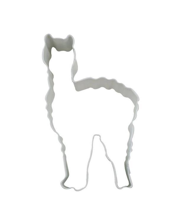 Creative Party Cookie Cutter (Uitsteker) Lama - per stuk - Uitstekers/ Uitsteekvormen