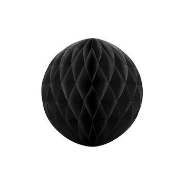 Partydeco Honeycomb Zwart - per stuk - (3 maten)