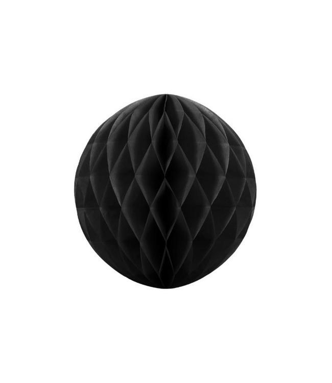 Partydeco Honeycomb Zwart - per stuk - (4 maten)