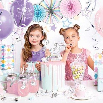 Partydeco Feestpakket Unicorn - set van 35 items - Party box voor een unicorn feestje