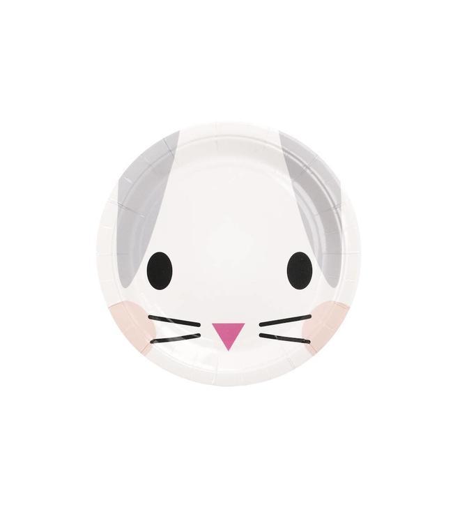 My Little Day Klein Konijn Bordjes - 8 stuks - Mini Rabbit van My Little Day