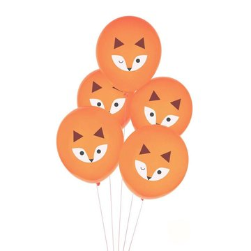 My Little Day Vos Ballonnen - 5 stuks - Mini Fox van My Little Day