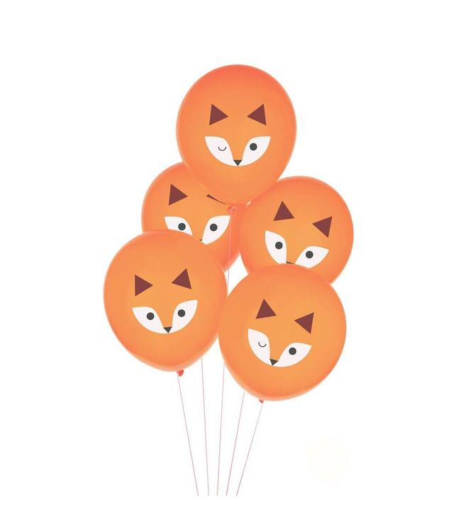 My Little Day Vos Ballonnen - 5 stuks - Mini Fox van My Little Day