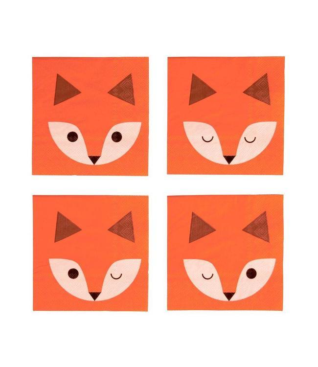 My Little Day Vos Servetjes - 20 stuks - Mini Fox van My Little Day
