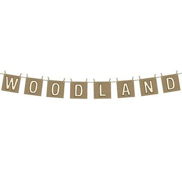 Partydeco Woodland Slinger (DIY) - per stuk