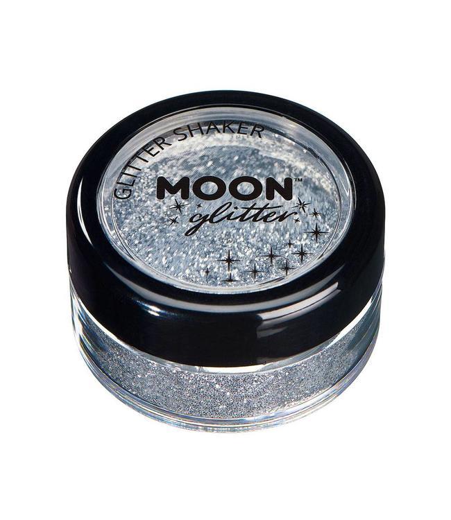 Moon Creations Glitter Shaker Zilver - per stuk - Schmink en Glitters