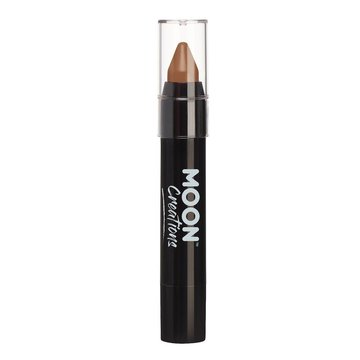 Moon Creations Face & Body Crayon Stick Bruin - per stuk - Schmink