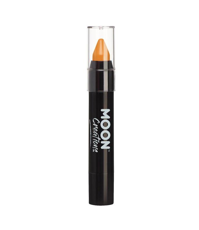 Moon Creations Face & Body Crayon Stick Oranje - per stuk - Schmink