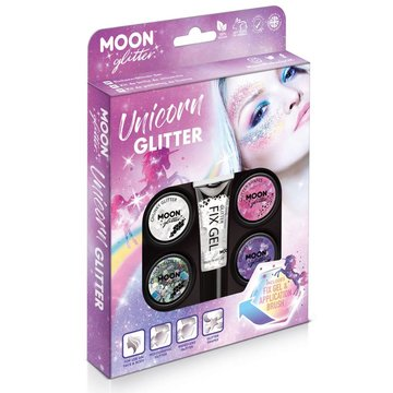 Moon Creations Unicorn Glitter Box - set - Schmink en Glitters