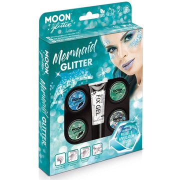 Moon Creations Mermaid Glitter Box - set - Schmink en Glitters