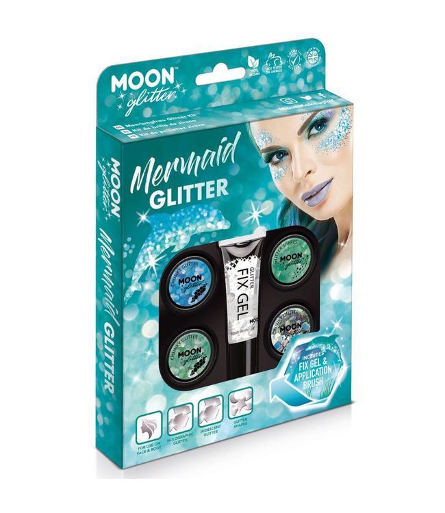 Moon Creations Mermaid Glitter Box - set - Schmink en Glitters