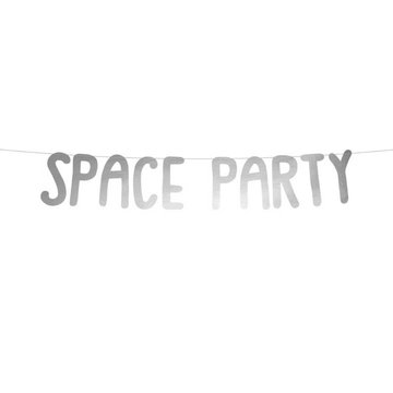 Partydeco Space Party Slinger - per stuk - Space feestartikelen en versiering