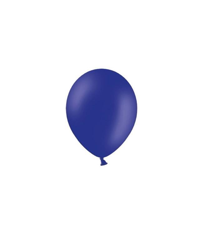 Partydeco Donkerblauwe Ballonnen (Klein) - 100 stuks - 12 cm - latex ballonnen