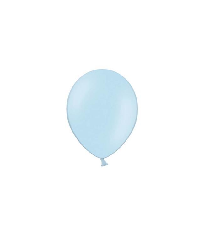 Partydeco Lichtblauwe Ballonnen (Klein) - 100 stuks - 12 cm - latex ballonnen