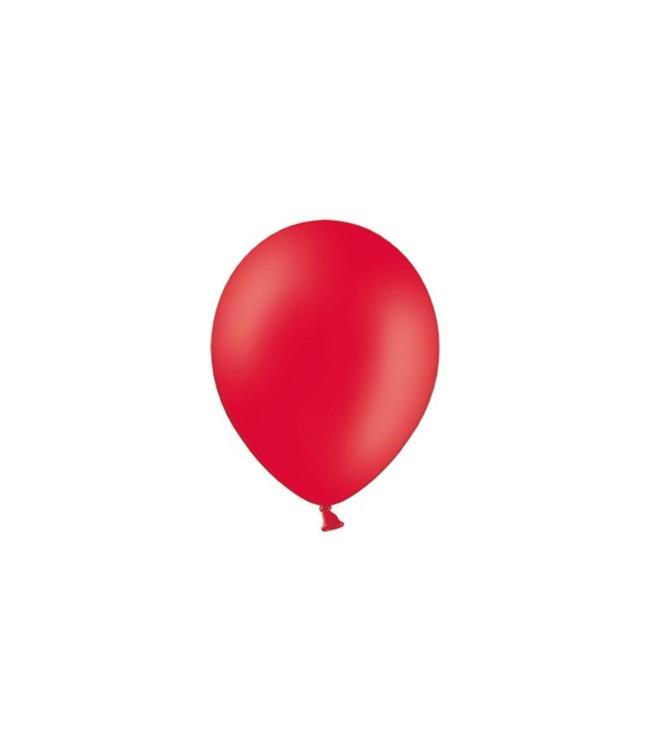 Partydeco Rode Ballonnen (Klein) - 100 stuks - 12 cm - latex ballonnen