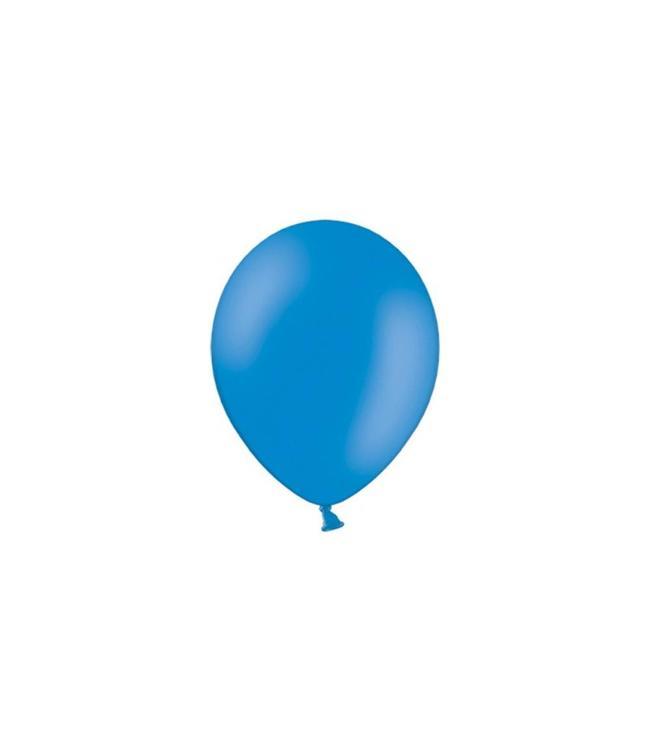 Partydeco Blauw Ballonnen (Klein) - 100 stuks - 12 cm - latex ballonnen