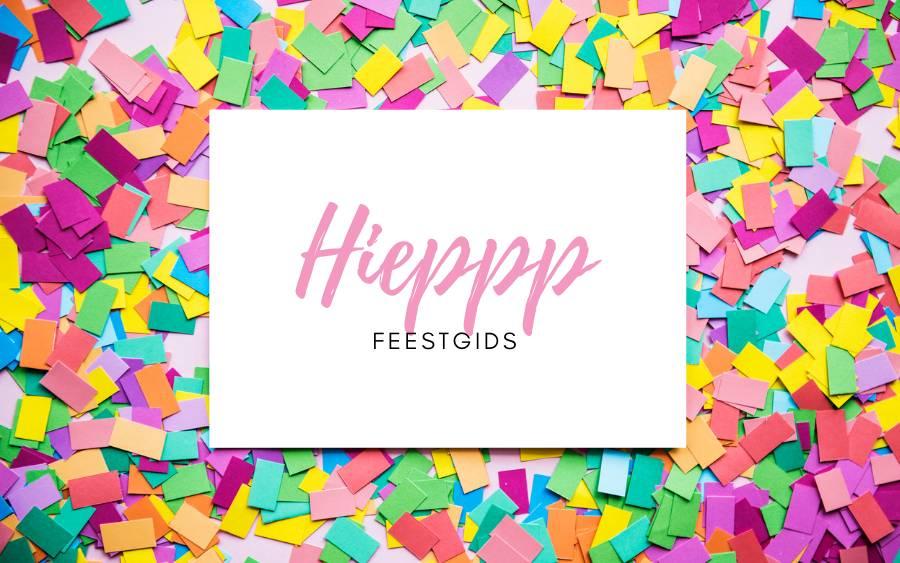 Nieuw: Hieppp Feestgids met de beste partijen voor jouw feestje