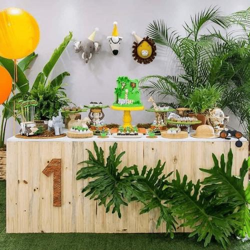 Kinderfeestje trends 2019: jungle party