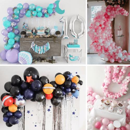 Kinderfeestje Trends: ballondecoraties