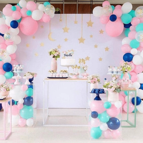 Kinderfeestje Trends 2019: Sweet corner met mini tables