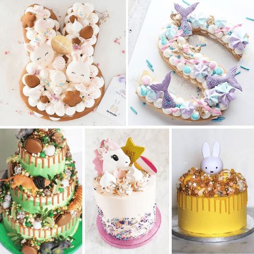 Kinderfeestje trends: taarten