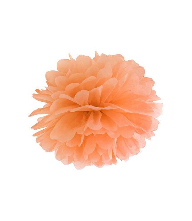 Partydeco Pom Pom Oranje (2 maten)
