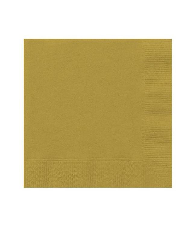 Unique Gouden Servetten - 20 stuks